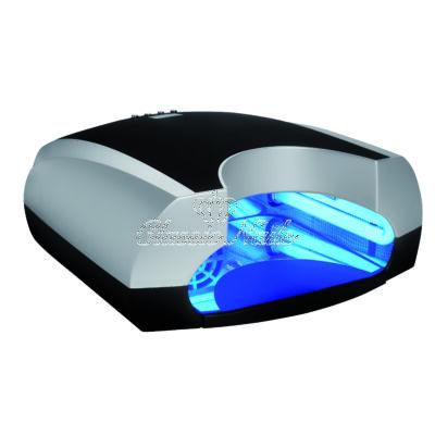 UV lámpa 36W-os design, fekete