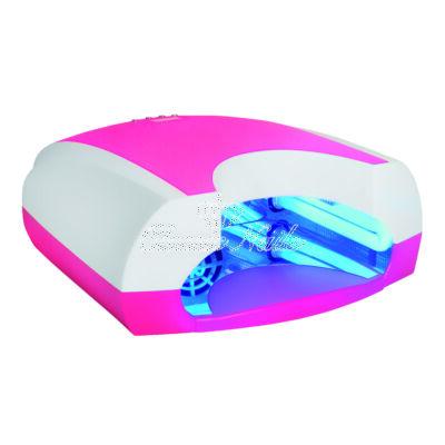 UV lámpa 36W-os design, rózsaszín