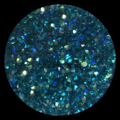 Kristály Pixie 1440 db, Blue zircon AB