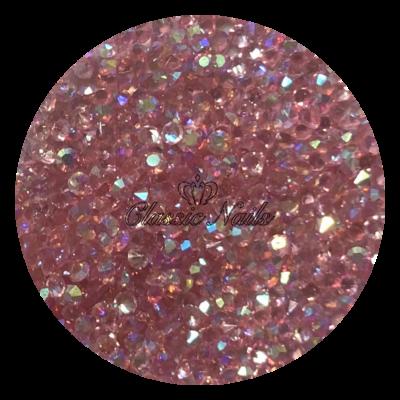 Kristály Pixie 1440 db, Light rose AB