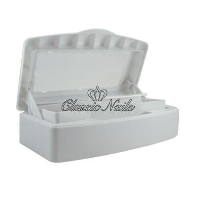 Classic Nails műanyag, liftes eszközfertőtlenítő tál