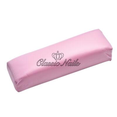 Classic Nails műbőr kéztámasz, pink színben