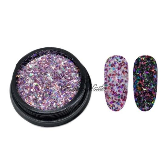 Glitter 304005 rózsaszín