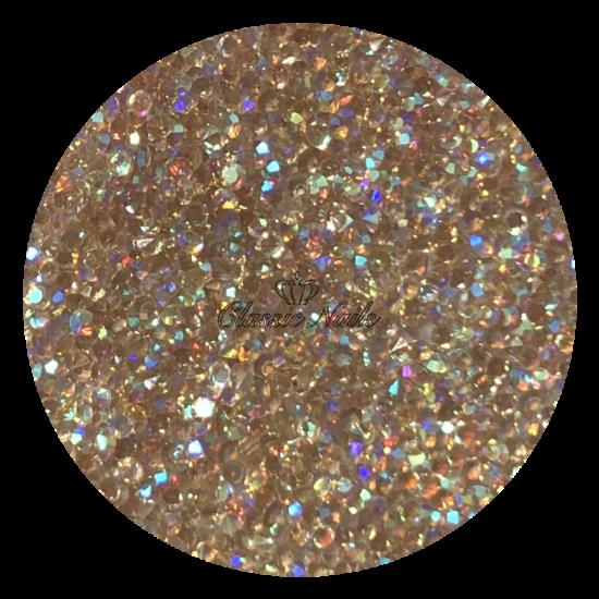Kristály Pixie 1440 db, Light siam Topaz AB