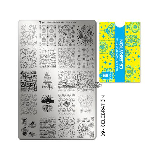 Körömnyomda lemez Celebration-09