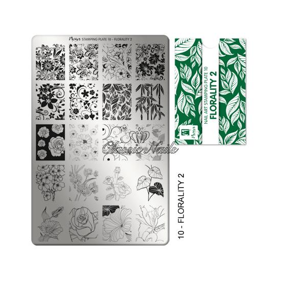 Körömnyomda lemez Florality-2