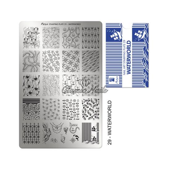 Körömnyomda lemez Waterworld-29