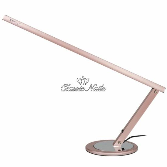 Talpas asztali lámpa, design rose gold