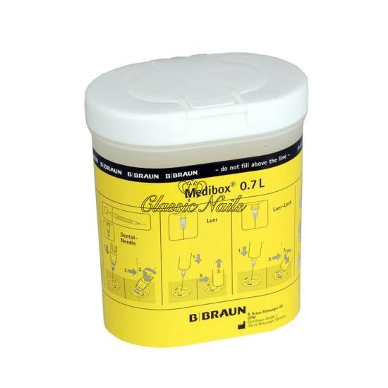 Medibox 0,7 l (használt sziketároló)