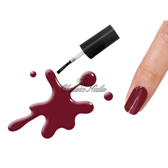 Gél lakk, Red wine 3013 6ml