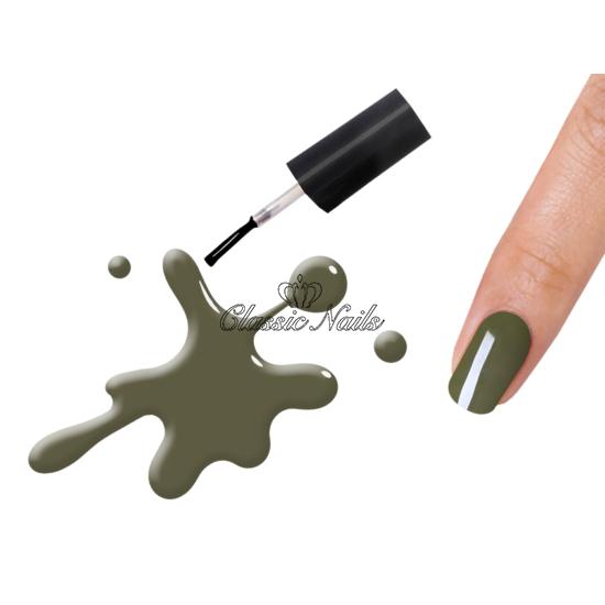 Gél lakk, Dark olive 3147 6ml