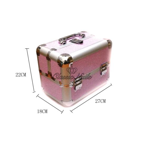 Műkörmös táska, kicsi rózsaszín