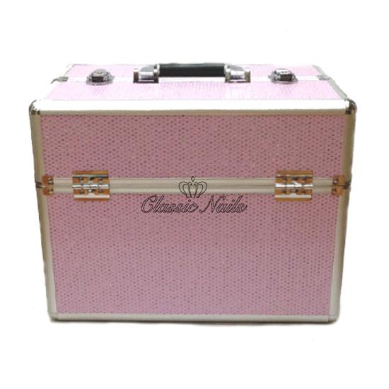 Műkörmös táska nagy, rózsaszín