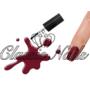 Kép 1/2 - Gél lakk, Red wine 3013 6ml